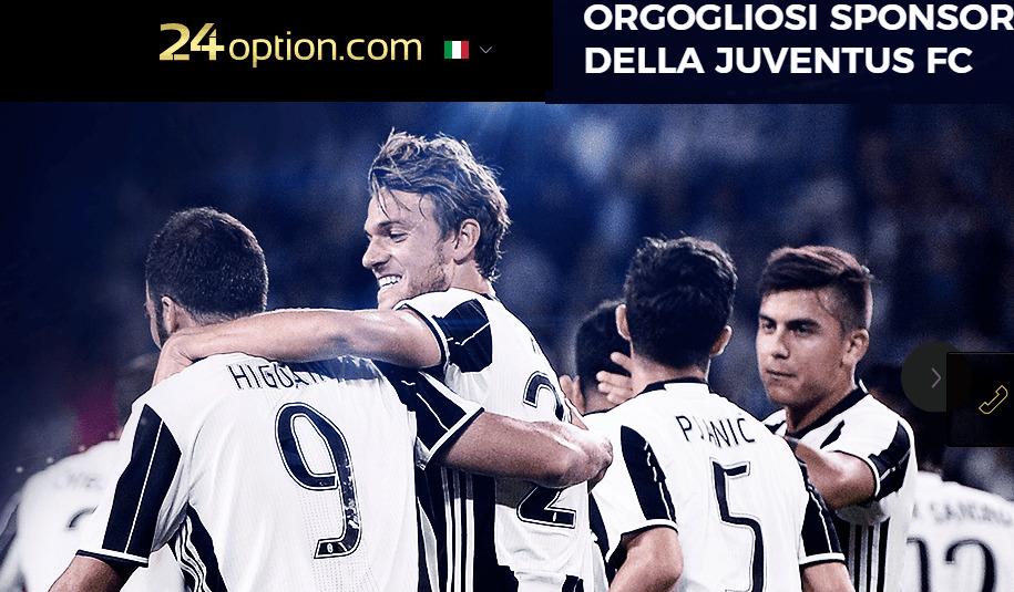 24option Juventus