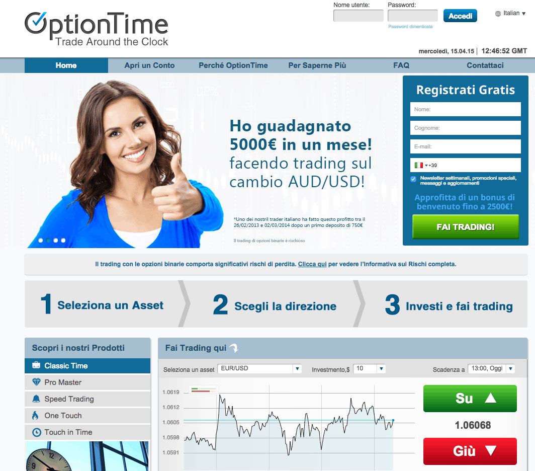 OptionTime-Home