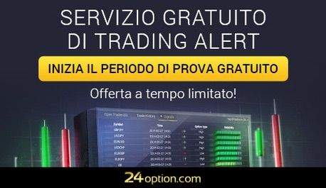 Il broker 24option introduce i segnali di trading