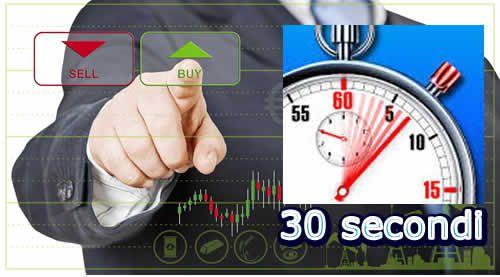Opzioni Binarie 30 secondi