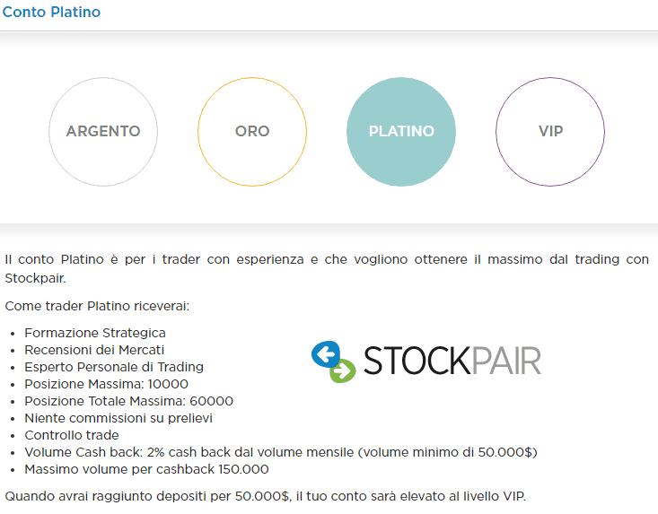stockpair-conto platino