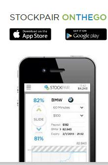 stockpair-piattaforma mobile