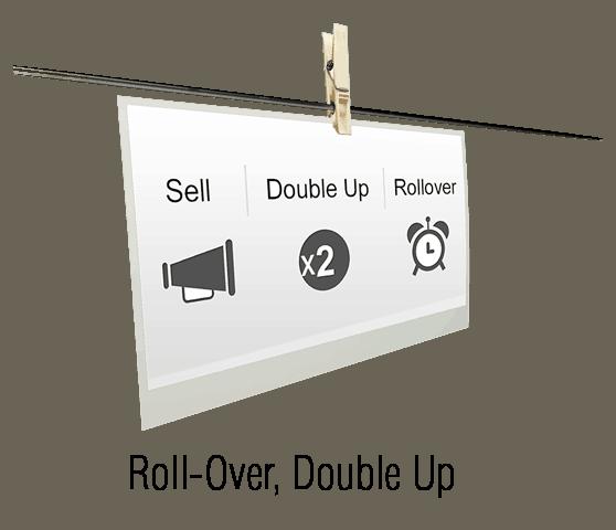 Double Up: pattern per opzioni binarie