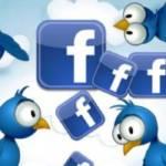 trading online con azioni facebook e twitter