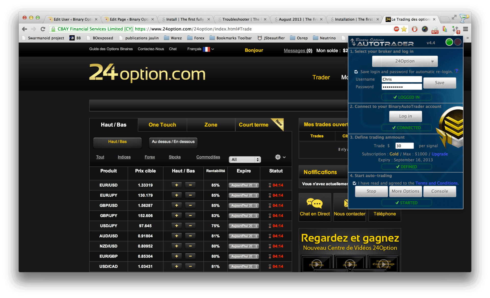 Stock custom options magento