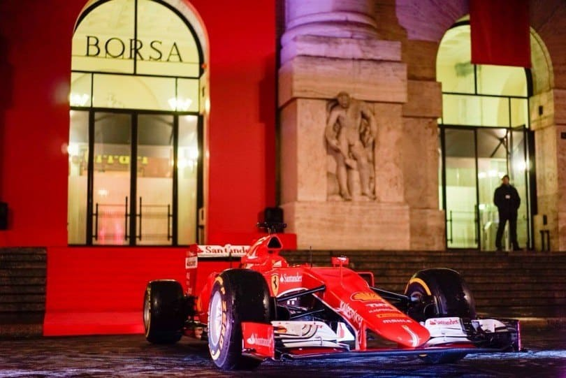 Comprare azioni Ferrari: quotazione in tempo reale