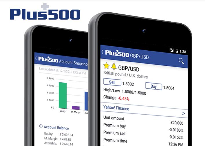 plus500 app mobile