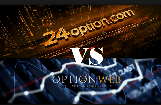 24Option vs OptionWeb: guida alla scelta del broker opzioni binarie