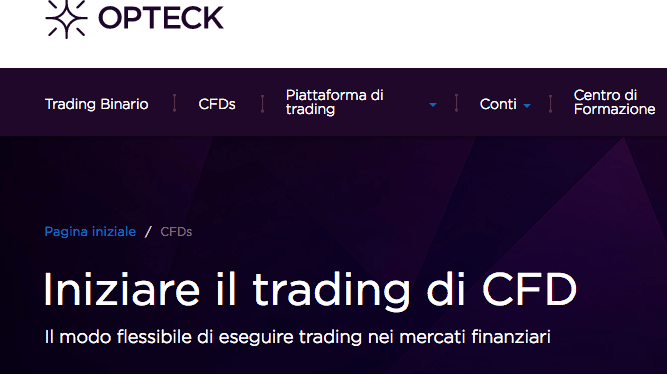 opteck trading cfd