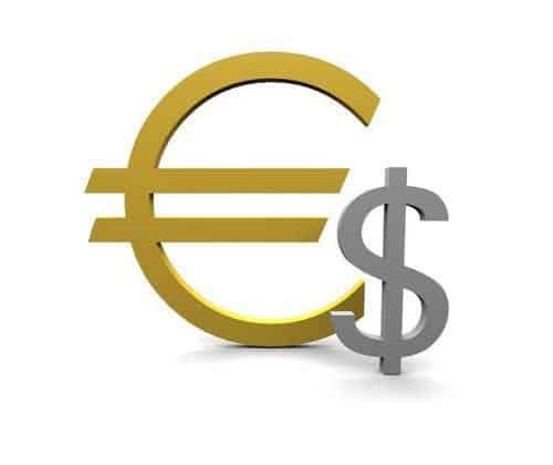 Quanto vale 1 dollaro in euro ? $ -> €