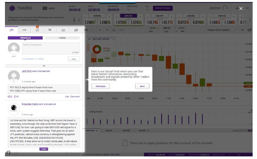 Tradeo opinioni e recensione Social trading con Tradeo.com