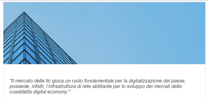 modello business telecom