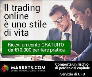 Markets.com è un broker consigliato