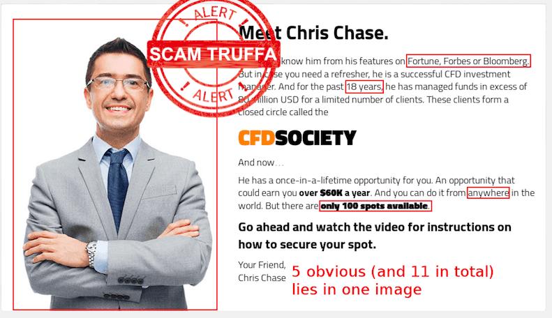 CFD society-truffa-