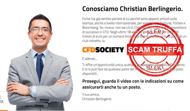 CFD society-truffa