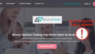 BinaryOnline.com: broker truffa ? opinioni e recensione