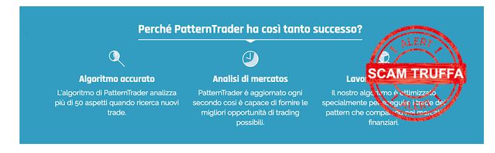 Pattern Trader forum: è un software truffa ? opinioni e recensione