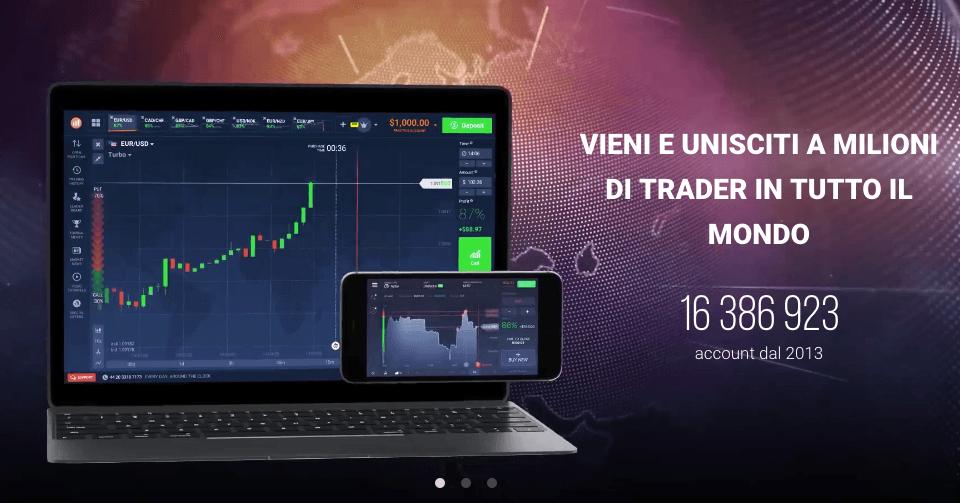 Trading opzioni binarie su azioni e valute