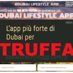 App Dubai Lifestyle: scopriamo il metodo di Giuseppe Pavoletti (truffa?)