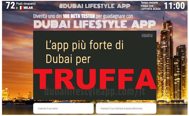 dubay lifestyle app TRUFFA