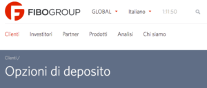 fibogroup deposito