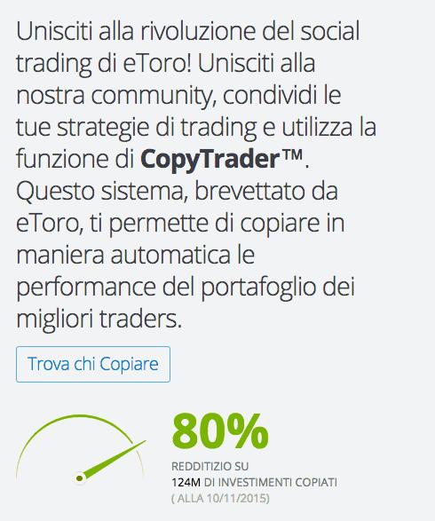 Lista migliori trader italiani e del mondo da copiare su eToro