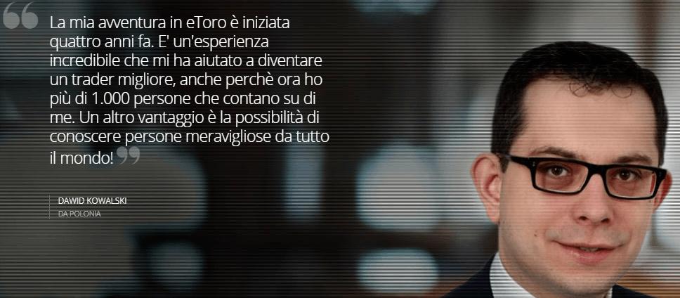 Migliori trader italiani: trovare i migliori guru eToro per guadagnare