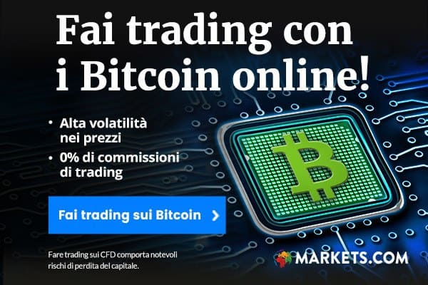 Come investire in BITCOIN con Markets.com