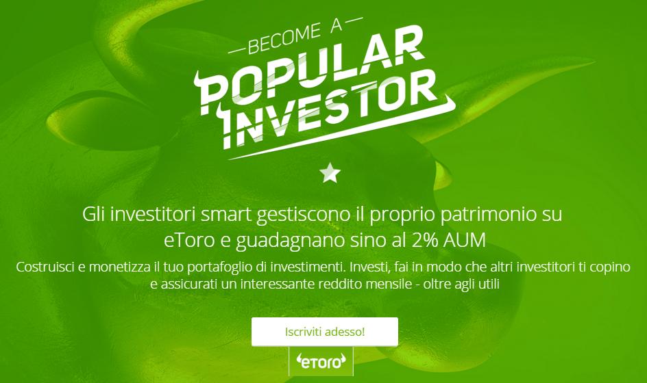 eToro Corsi per investitori