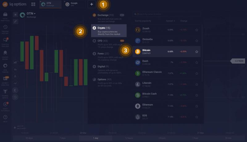IQ Coin opinioni recensioni piattaforma trading criptovalute IQ Option