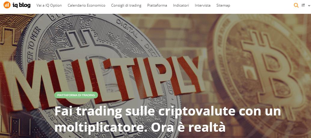 IQ Option Bitcoin: come fare trading di Criptovalute con IQ Option