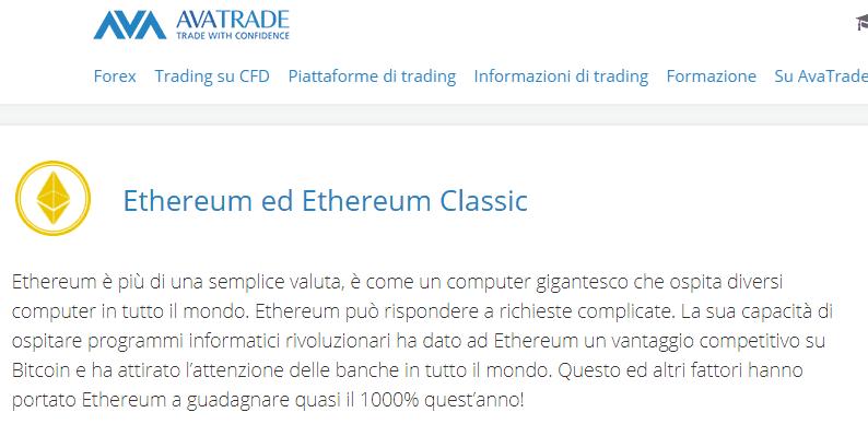 avatrade ethereum