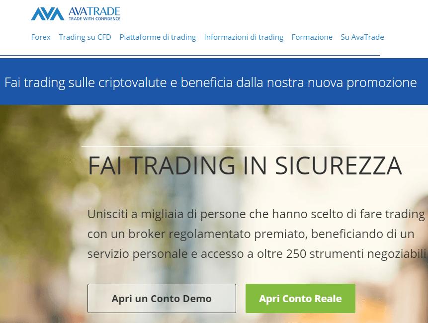 avatrade trading online con i CFD sulle criptovalute