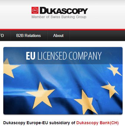 Dukascopy opinioni e recensioni Dukascopy CFD Forex Trading
