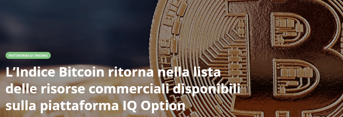 iq option bitcoin trading