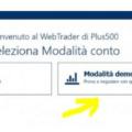 Plus500 demo: come aprire un conto demo gratuito