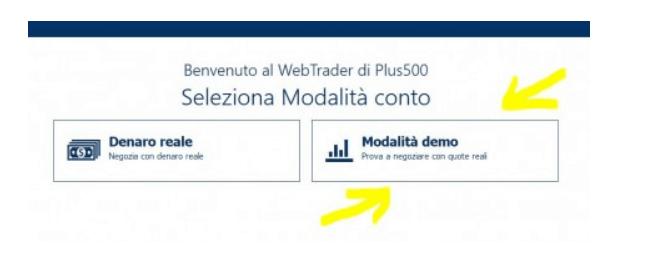 Plus500 demo trading: come aprire un conto demo gratuito su Plus500