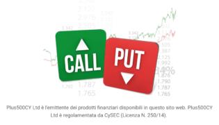 Plus500 opzioni: come funzionano le opzioni call e put di Plus500