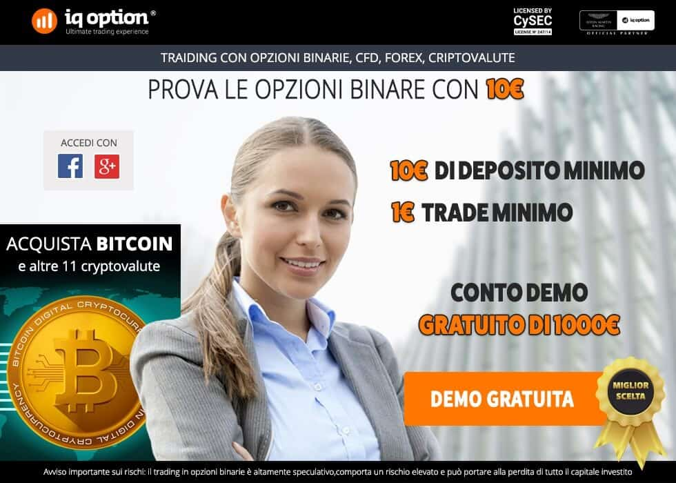 Come fare trading con iq option e le criptovalute