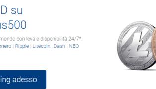Bitcoin Plus500: come fare trading di criptovalute sul broker