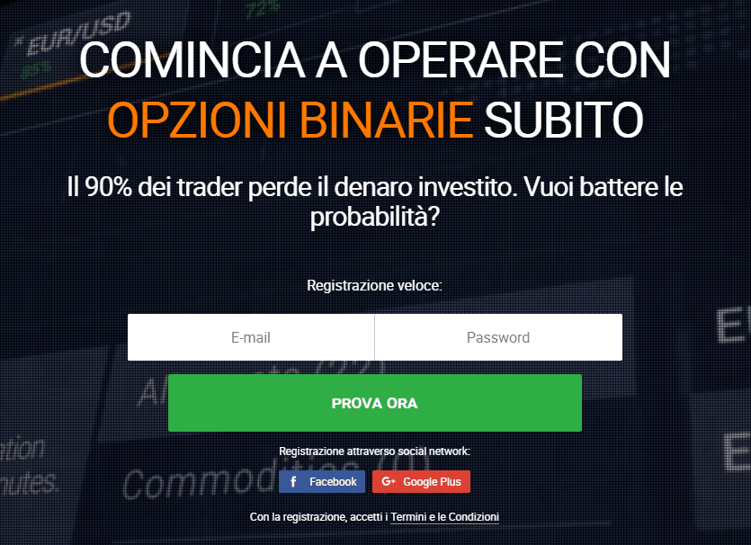 apertura conto iq option