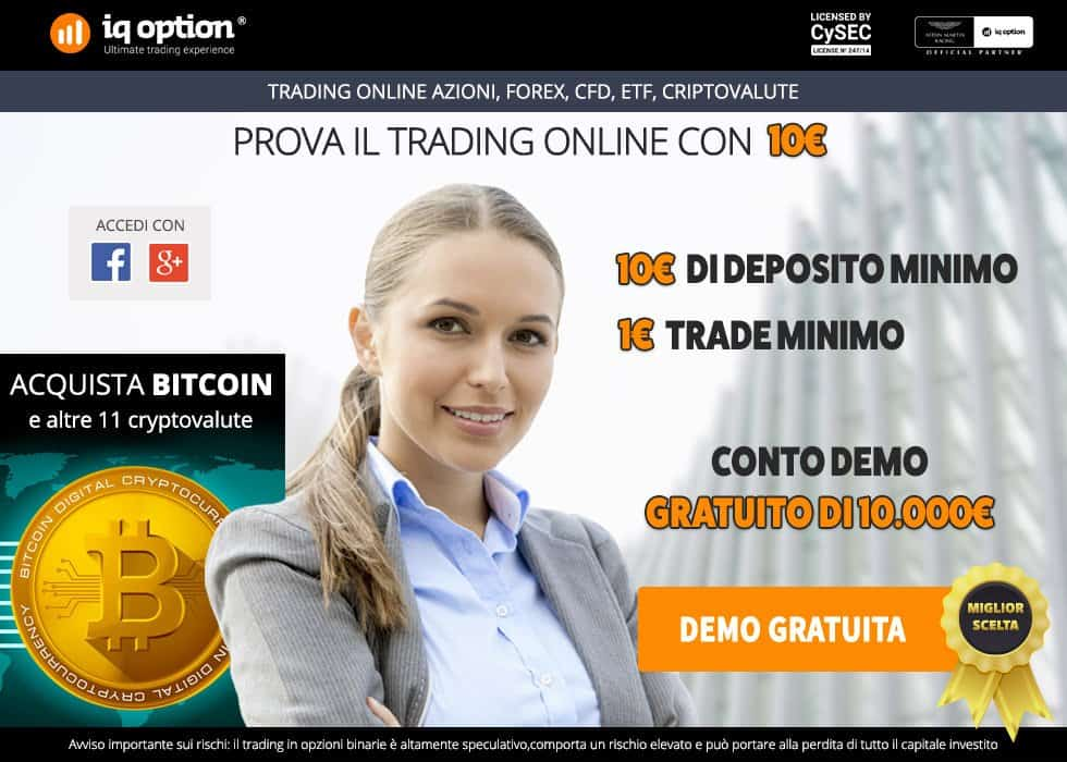 IQ Option demo: come aprire un conto demo trading su IQ Option