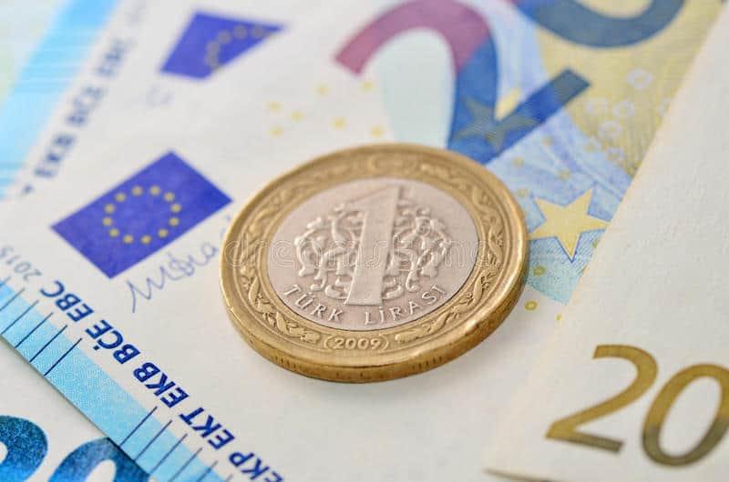 Cambio euro lira turca EUR/TRY– Grafico in tempo reale