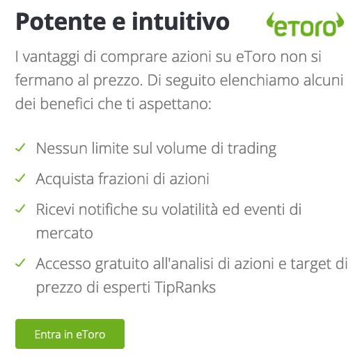 eToro azimut holding