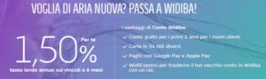 Conto Deposito Widiba online conviene? Che interessi offre, opinioni e recensioni