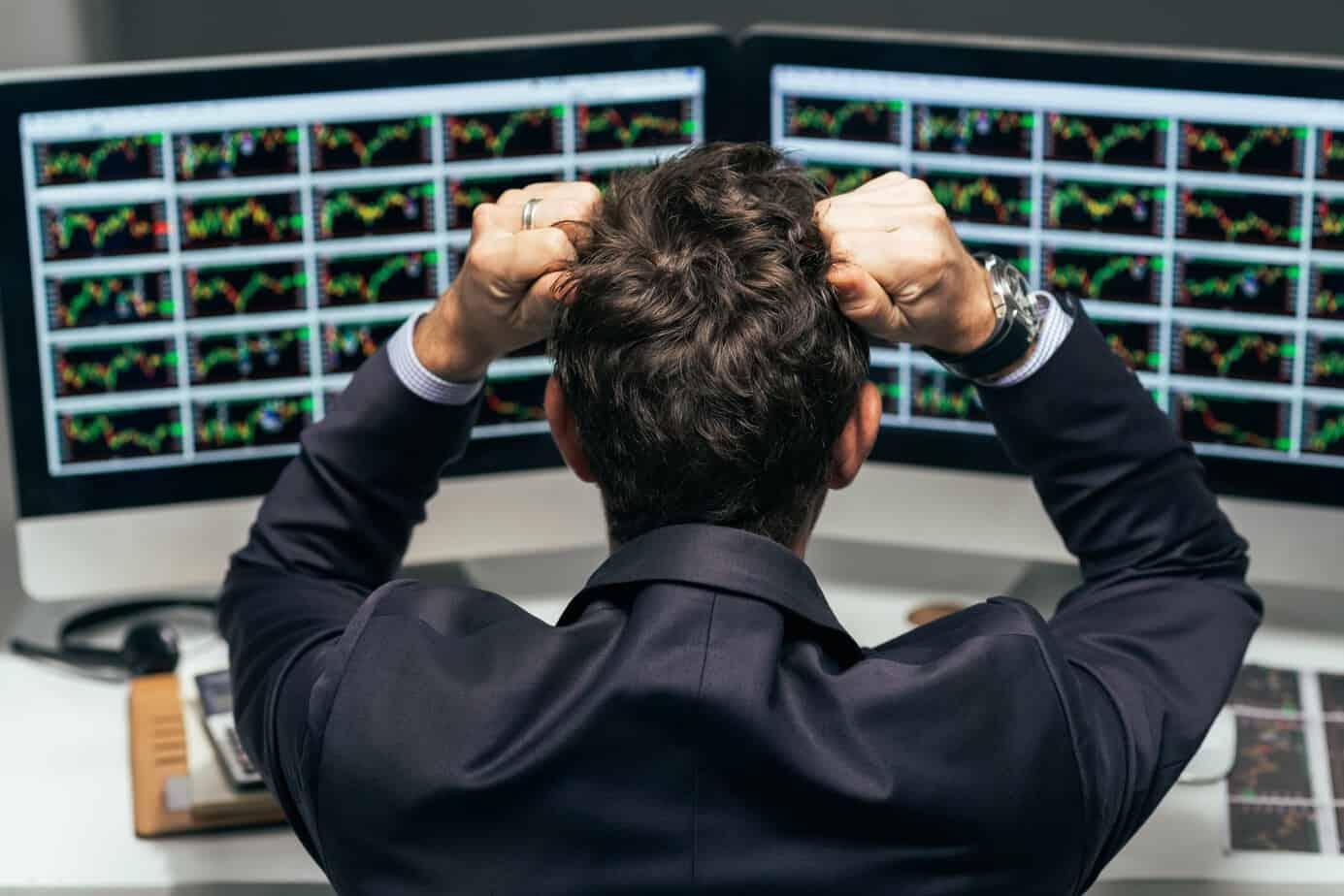 Crollo del mercato