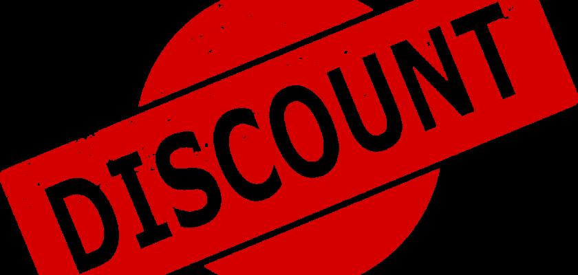certificates discount
