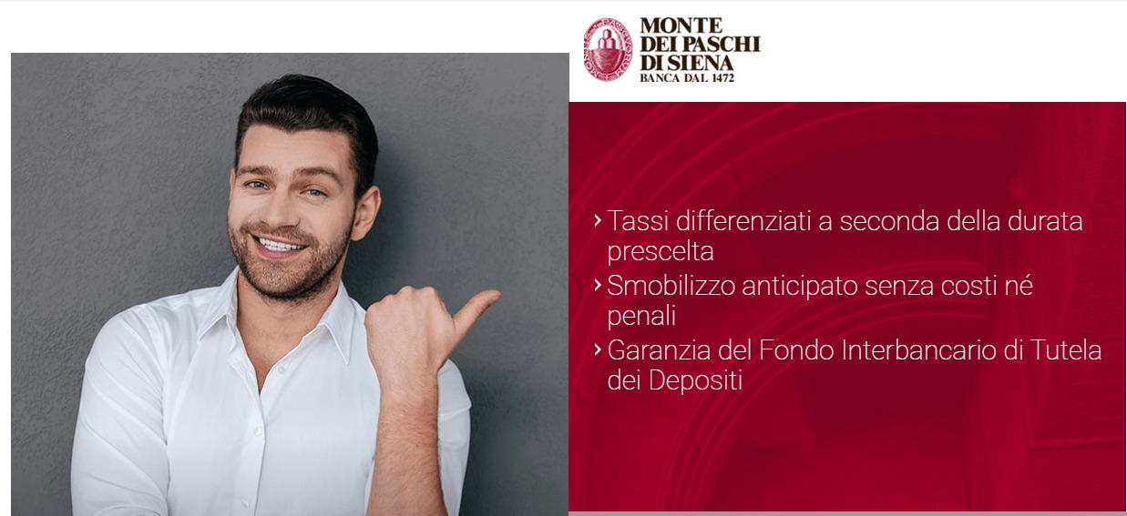 Conto di deposito italiano MPS