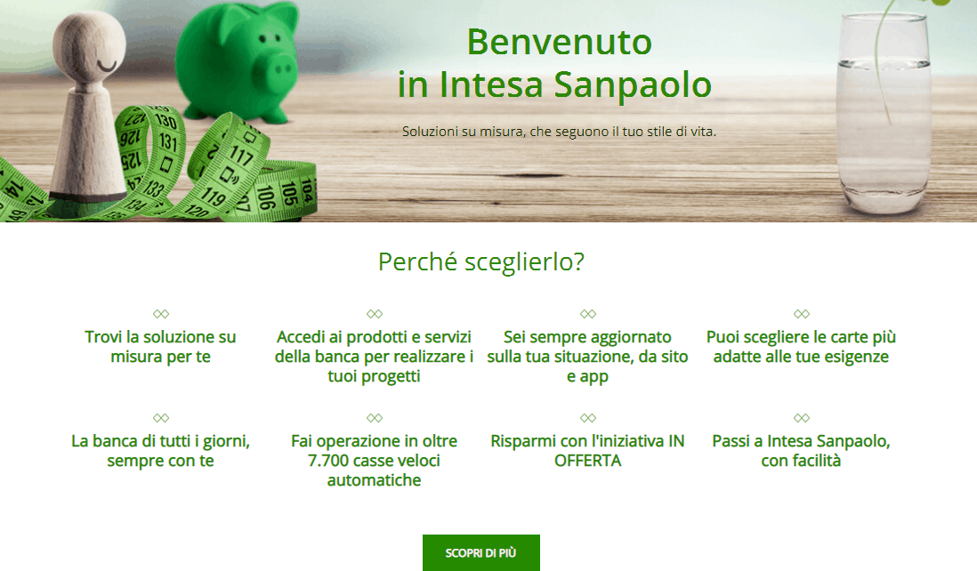 Intesa Sanpaolo conto deposito