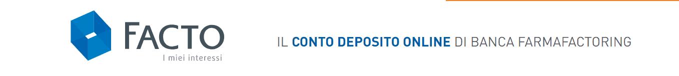 conto deposito online facto